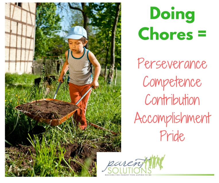 How can I get my kids to do chores?
